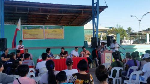 Awarding of CELA PNR Non-Core Properties to Brgy Solib and Maligaya - Distribution of Titles to Beneficiaries of Palmayo Resettlement Center